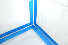 bathtub caulking tape bathtub caulking tape home improvement caulking caulking bathtub using masking tape