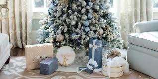 Pix For U003e Blue And Purple Christmas Tree Decorating Ideas Blue Christmas Tree Ideas