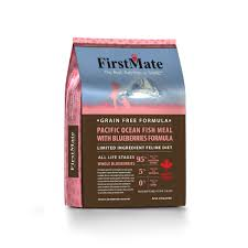 <b>FirstMate</b> Cat LID GF <b>PacificOcean Fish</b>/Blueberries 10lb | Catoro