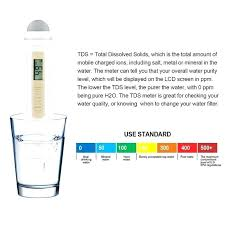 Water Purity Chart Ppm Water Testing Allinonestore Co