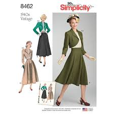 Simplicity Skirt Patterns Amazing Misses Vintage Blouse Skirt And Lined Bolero Simplicity Sewing