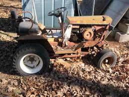 bush hog d4 10 garden tractor