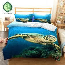 sea turtle bedding set
