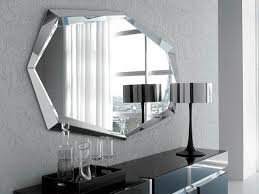 modern wall mirrors shapes  doherty house  decorate with