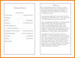Good Programs Obituary Examples Resume Format