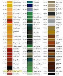 Ral Chart Ral Color Chart Efestudios Co