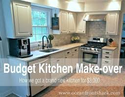 kitchen remodels on a budget great tips for doing a major kitchen renovation on the kitchen remodels on a budget