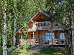 cabin house plan loft wrap around porch home building plans floor with mini
