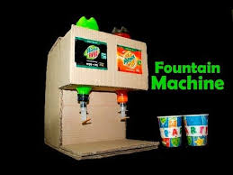 Vending Machine Diy Fascinating How To Make Fanta And Mountain Dew Fountain Machine At Home Most