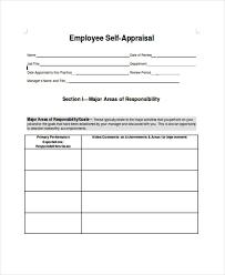 employee self assessments employee self evaluation form employee  self assessment examples for managers hlwhy employee appraisal form template uk