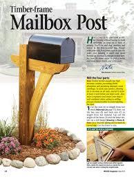 wood mailbox posts. Woodworking Tools Dewalt Diy Wooden Mailbox Post Hardwood Dowels Wood Posts