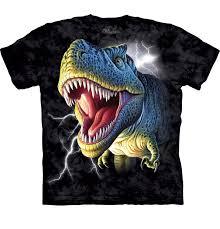 "Child & Adult ""<b>Big Face Glow</b> Rex"" The Mountain T-Shirt"