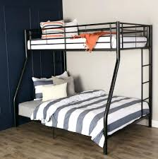 Bunk Beds Black Bunk Bed With Futon Metal Assembly Instructions
