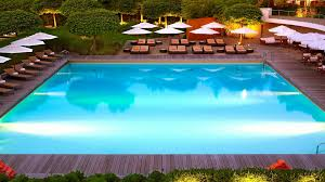 hotel outdoor pool. InterContinental Hotel Geneve View On The Swimming Pool Outdoor R