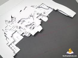 horrorgami diy pop up book kirigami art 10