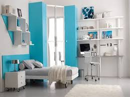 awesome teen boy bedroom ideas with blue frame door and glass door plus open shelves also amazing bedroom interior design home awesome