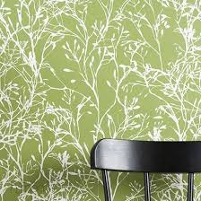 wallpaper pattern modern green. Brilliant Green Ferm Living  Wildflower Wallpaper Green U0026 Modern On Pattern O