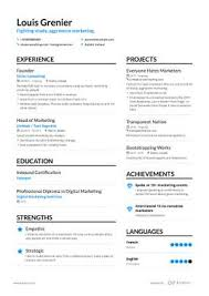 Marketing Experience Resume The Best 2019 Marketing Resume Example Guide