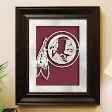 washington redskins framed laser cut metal wall art by memory company 42 15 shipping times on redskins metal wall art with 36 best home d cor sculptures images on pinterest wall