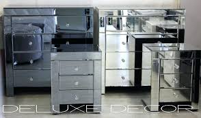 smoked mirrored furniture. Smoked Mirrored Furniture. Plain Decoration Furniture Set Mirror Bedroom Silver M Tables R
