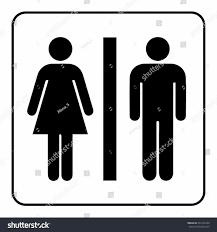 men's bathroom sign vector | stiprut.info
