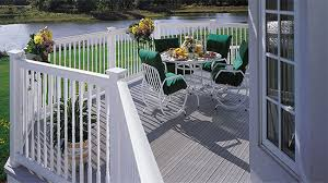 Types of deck railings Spindles Types Of Railing Certainteed Types Of Railing Certainteed