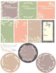Tags For Gifts Templates Christmas Food Gift Tag Templates Festival Collections