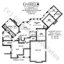 large ranch style house plans huntington cottage plan by garrell associates inc