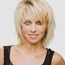 Creative Short Hairstyles With Side Bangs And Layers Design