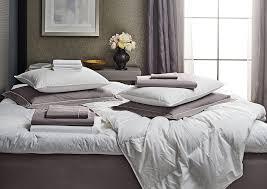 platinum grey percale bedding set