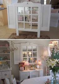 window mirrors with shutters