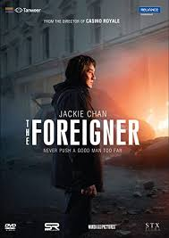 What is the foreigner about? The Foreigner Amazon In Katie Leung Jackie Chan Rufus Jones Martin Campbell Katie Leung Jackie Chan Movies Tv Shows
