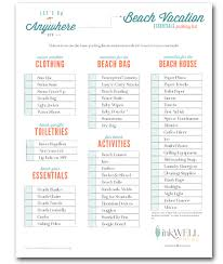 Vacation Checklist Free Download Travel Packing Checklist Inkwell Press