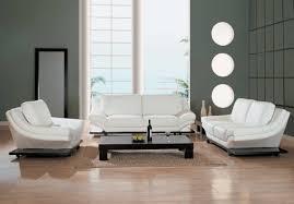 White Leather Living Room Modern Sofa Unique Shaped Modern Sofa In Living Room House