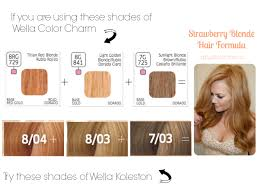 Solfine Hair Color Chart Strawberry Blonde Hair At Home International Edition