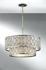 drum shade light 6 light chandelier diy drum shade light fixture