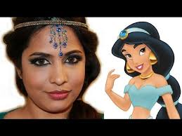 exotic arabic makeup real princess jasmine makeup ماكياج العربي you gaming exotic arabic eyes