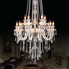 extra large chandeliers new luxury crystal chandelier led living room lamp popular modern intended for 5
