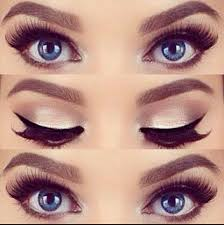 want your blue eyes to pop out even more try this brown eyes makeupblue eye