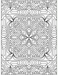 Many such patterns are freely available online; Free Tessellations Coloring Pages Coloring Home