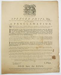 1763 a revolutionary peace exhibit journal of the american phips proclamation source massachusetts historical society