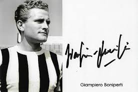 Mateusz Zgorzyk - Football Autographs Collection - Giampiero Boniperti -  FIFA100 #98