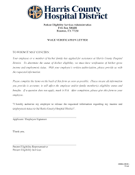Best Photos Of Proof Of Employment Letter University Proof Of