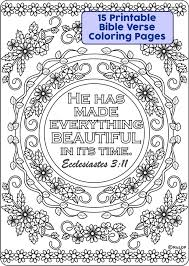 15 Bible Verses Coloring Pages Ricldp Artworks