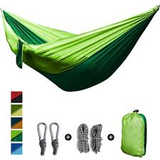 <b>2 People</b> Portable Parachute Hammock <b>Outdoor</b> Survival Camping ...