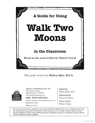 best walk two moons images walk two moons  a guide for using walk two moons in the classroom