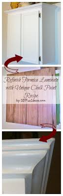 How To Refinish Formica Cabinets Unique Chalk Paint Recipe Do It