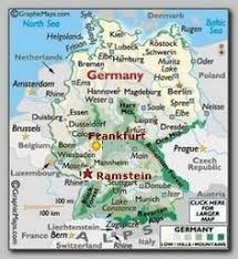 ramstein air base germany map cruise port germany base places travel