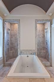 Vault-Style Walk-Through Shower