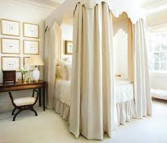 canopy bed curtains accessories